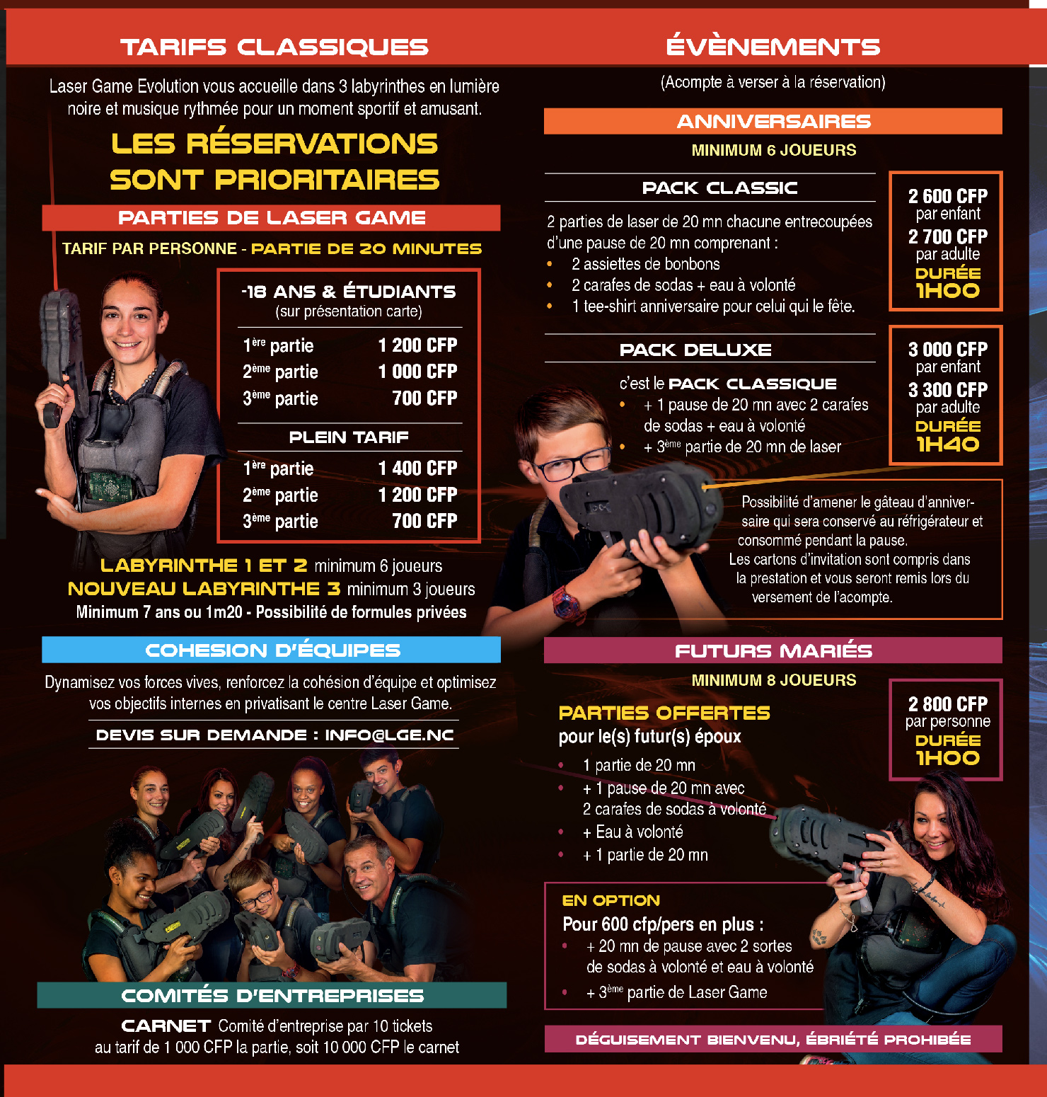 laser game evolution noumea